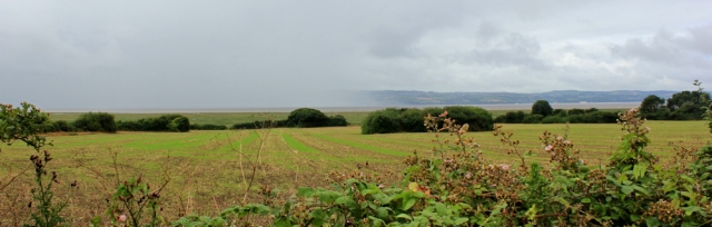 02 rainstorm over Dee Estuary, Ruth Livingstone
