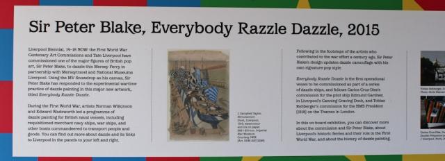 03 Peter Blake, Razzle Dazzle ships, Ruth Livingstone