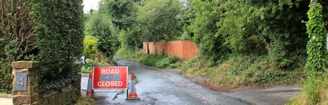 04 road closed, Broad Lane, Ruth Livingstone, Heswall