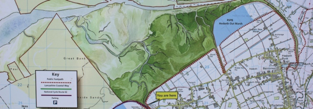 07 map of Hesketh Out Marsh, Ruth Livingstone