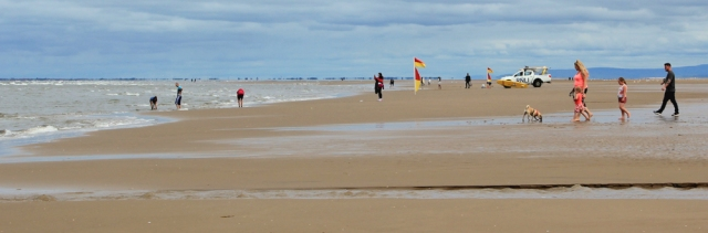 09 Ainsdale beach, Ruth's coastal walk to Southport