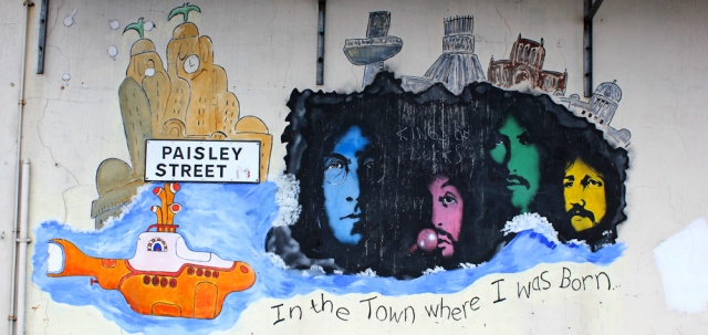 09 Beatles graffiti, Paisley Street, Liverpool, Ruth Livingstone