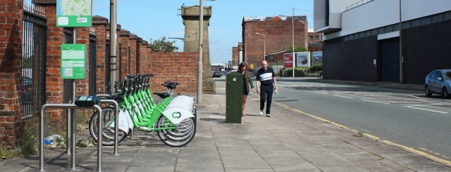10 bike scheme, Liverpool, Ruth's coastal walk