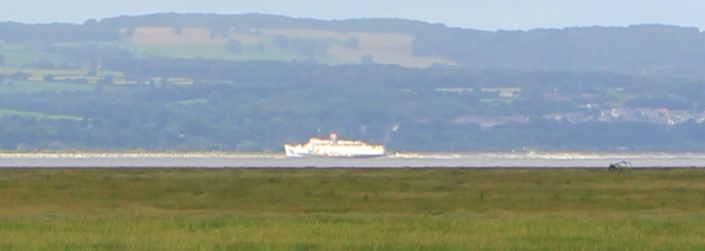 10 the Fun Ship, Ruth's coastal walk, Dee Estuary