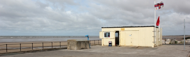 11 lifeguard hut, Crosby beach, Ruth's coastal walk