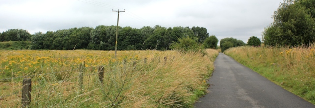 14 new access for walkers, Ruth hiking from Shotton to Neston