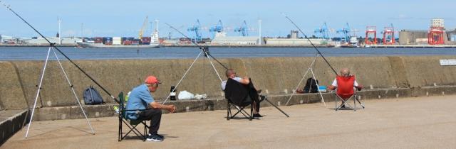 16 fishermen, Wallasey, Ruth's coastal walk