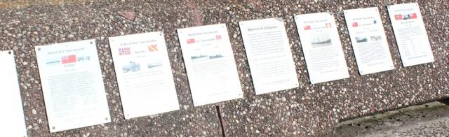 21 memorial plaques