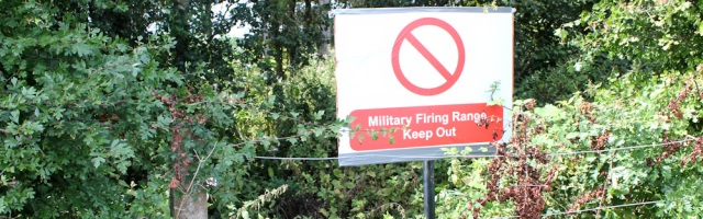 22 keep out of Altcar Rifle Range, Ruth Livingstone