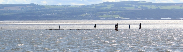 22 walking on water, West Kirby, Ruth's coastal walk