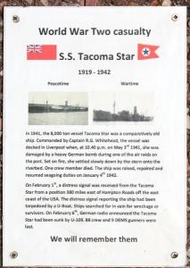 23 memorial Tacoma Star, Wallasey, Ruth Livingstone