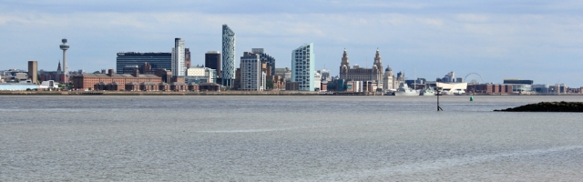 24 Liverpool, from Wallasey, Ruth's coastal walk, Wirral