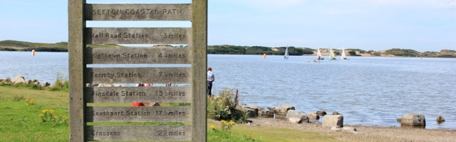 27 Sefton Coastal Path, Crosby Marine Lake, Ruth's coastal walk