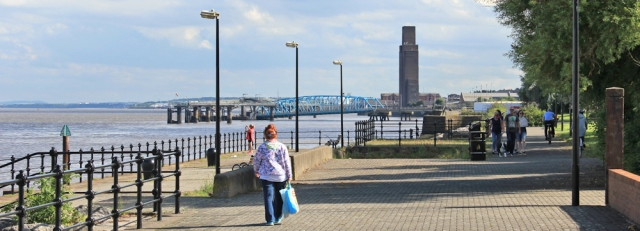 28 ruth livingstone walking to Woodside Ferry terminal