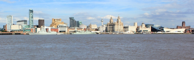29 Liverpool skyline from the Mersey, Ruth Livingstone