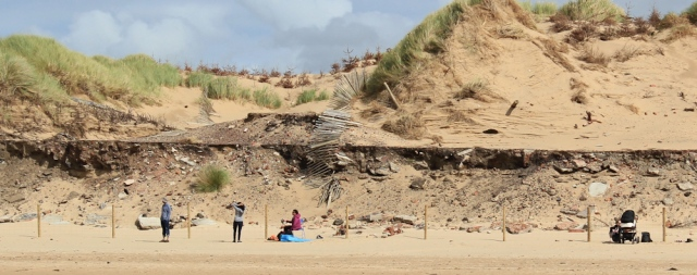 31 coastal erosion, Formby Beach, Ruth's coastal walk