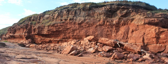 a12 red rocks at the back of Hilbre Island, Ruth Livingstone