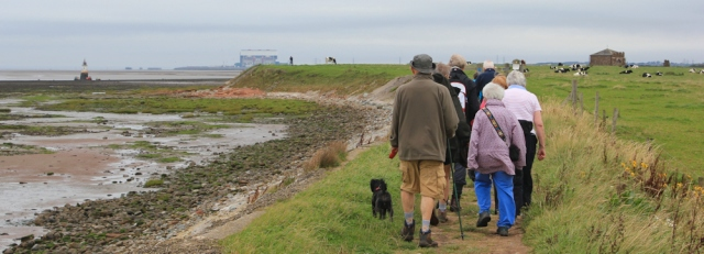 09-following-hikers-to-cockersand-abbey-and-plover-scar-ruths-coastal-walk-lancashire