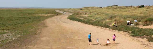 19-walking-through-dunes-ruth-livingstone-lytham-st-annes