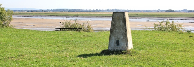 27 trig point, Lancashire coastal path, Freckleton, Ruth Livinstone