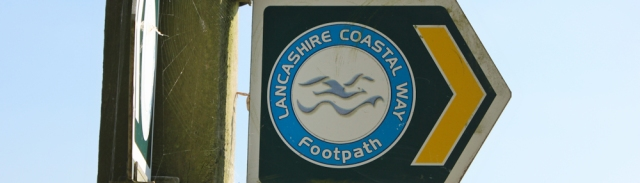 29 Lancashire Coastal Footpath sign, Ruth Livingstone