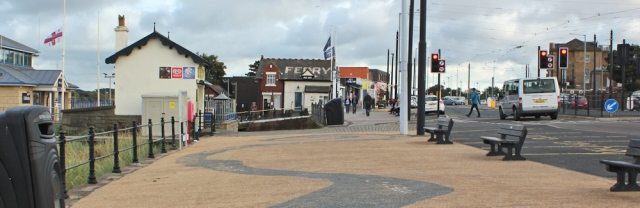 46-end-of-walk-at-fleetwood-ruth-hiking-the-lanacshire-coastal-way