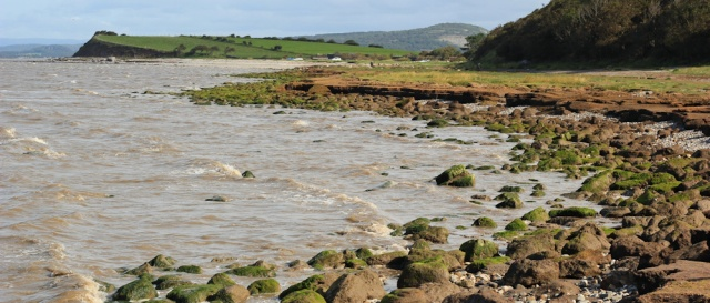 05-high-tide-ruth-trekking-morecambe-bay