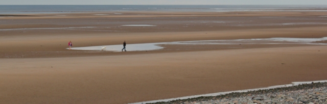 09-dog-walkers-on-north-scar-sands-ruth-walking-around-north-walney
