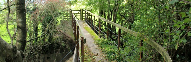 31-footbridge-over-main-drain-ruth-walking-to-grange-over-sands-cumbria