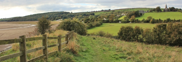 41-bardsea-ruth-hiking-up-the-leven-estuary