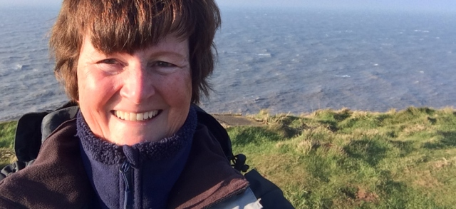 06-self-portrait-ruth-hiking-over-st-bees-head
