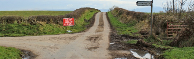 a19-road-closed-sign-ruth-livingstone-walking-the-english-coast-cumbria