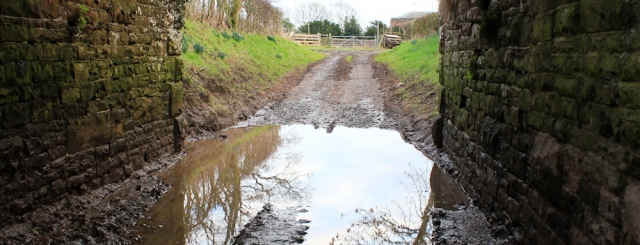 a28-railway-bridge-and-giant-puddle-ruth-livingstone-walking-the-english-coast-cumbria