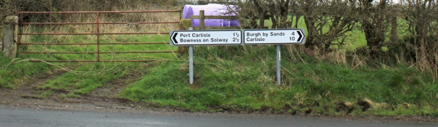 01 setting off for Burgh on Sands, Ruth's coastal walk, Cumbria