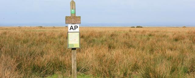 12 warning sign, Burgh marsh, Ruth walking in Cumbria