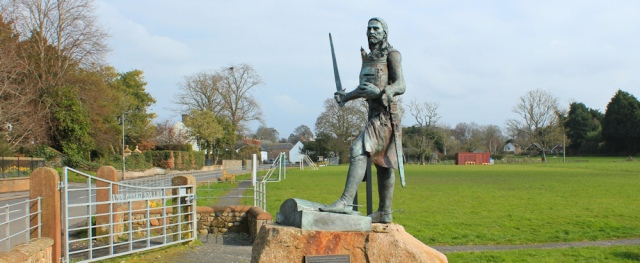 15 Edward I statue, Burgh on Sands, Ruth Livingstone