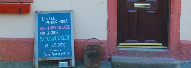 31 closed pub, Bowness-on-Solway, Ruth's coastal walk, England