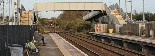 51 Gretna Green station, Ruth Livingstone walking the Scottish Coast