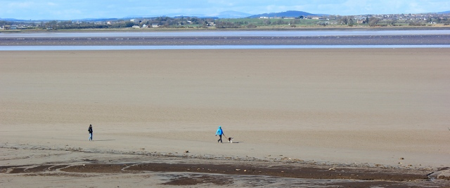a01 Solway Firth, Ruth's coastal walk, Bowness, Cumbria, Hadrian's Wall