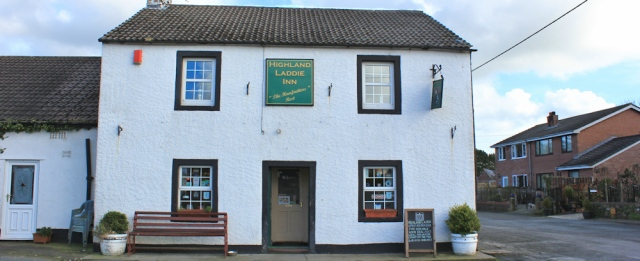 a15 Highland Laddie pub, Ruth in Glasson, Cumbria