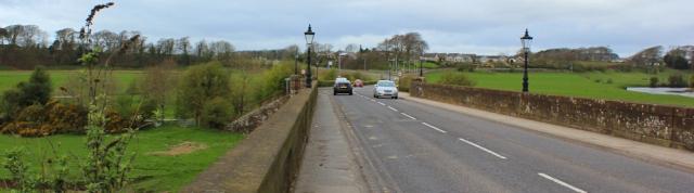 01 Bridge over River Annan, Ruth Livingstone walking the coast of Scotland