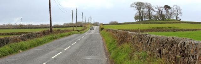 06 road walking, Ruth's coastal walk, Dumfries and Galloway