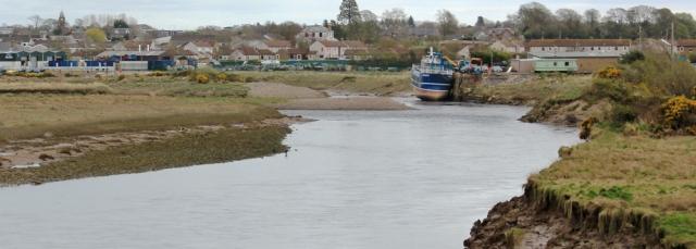 06 wharf on the Annan, Ruth's coastal walk, Dumfries and Galloway