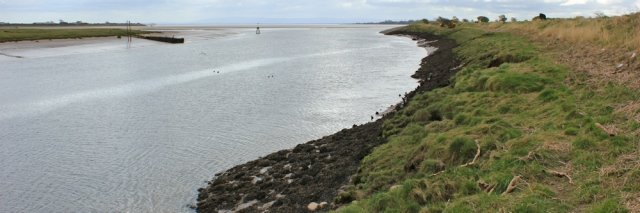 10 mouth of the River Annan, Ruth's coastal walk, Dumfries and Galloway
