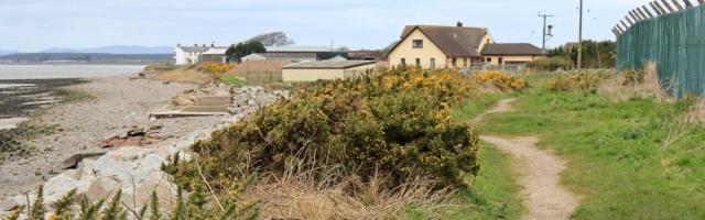 14 approaching Newbie Mains, Ruth's coastal walk, Dumfries and Galloway