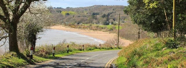 18 Sandyhills, Ruth walking the Scottish coast, Dumfries and Galloway