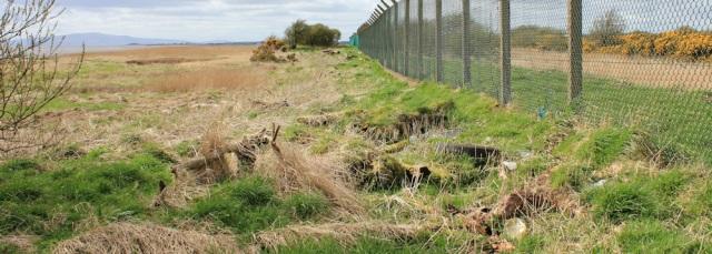 19 difficult shoreline, Ruth's coastal walk to Annan