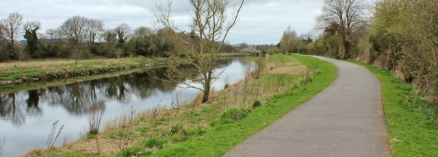 19 River Nith path to Dumfries, Ruth's coastal walk