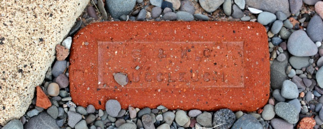 19c Bacclouch, bricks on the beach, Ruth Livingstone