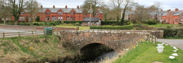 20 bridge at Powfoot, Ruth's coastal walk, Dumfries and Galloway